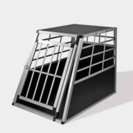 Aluminum Dog cage: Pet Products, Dog Goods Large Single Door Dog cage 65a 77cm 06-0767 Large Single Door Dog cage 65a 77cm 06-0767