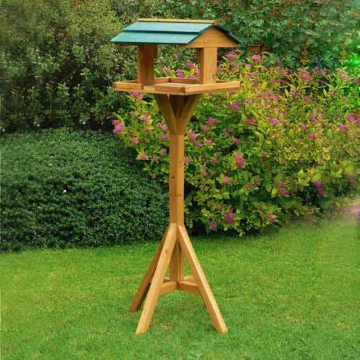 Bird feeder, Bird Products Factory, Manufacturers & Supplier Fir-wood bird food feeder pet Staple Fiber Material rainproof roof Fir-wood bird food feeder pet Staple Fiber Material rainproof roof