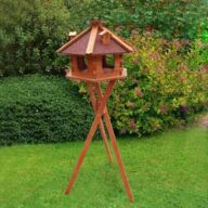 Rainproof fir Bird feeder Roof Dia 57cm bird house height 36cm 06-0978 Bird feeder, Bird Products Factory, Manufacturers & Supplier bird house