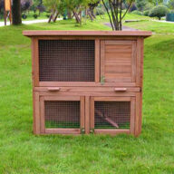 Selling wooden rabbit cage wood pet house 145x 45x 84cm 08-0027 Rabbit Cage & Wood, Wooden Rabbit House cage chinchilla
