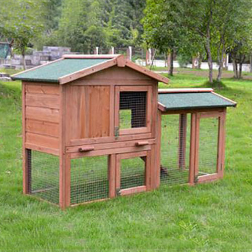 wooden rabbit cage 08-0028