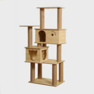 Pet Cat MDF Cat Tree Pet Cat Climbing Frame for Wholesale