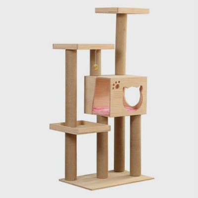 Pet Cat Big Cat Tree