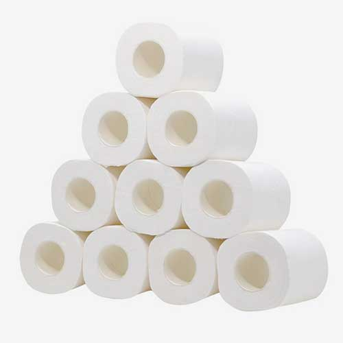 Toilet tissue paper roll bathroom tissue toilet paper 06-1445 Epidemic Prevention Products bamboo toilet paper
