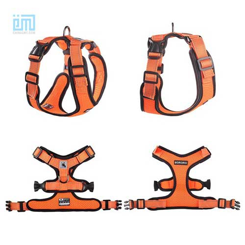 wholesale custom adjustable dog chest harness 109-0002-8