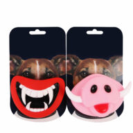 Squeak Chewing Funny Teeth Pig Nose Joke Prank Custom Vinyl Toy Pet Teething Toys For Halloween Toy Pet Toys: Pet Toys Products, Dog Goods