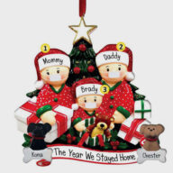 DIY Personalise Family Christmas Tree PVC Decorations Tree Christmas decoration (1301) christmas car accessories
